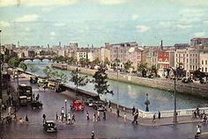 Aston Quay Dublin 1960s | Dublin Ireland, Ireland Travel, Old Pictures, Old Photos, Images Of Ireland, Photo Engraving, Ireland Homes, Dublin City, Arran