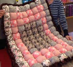 Bubble Quilts | Awaiting Ada I would love to make one of these