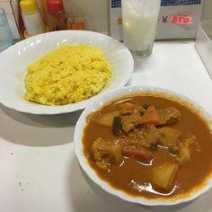 いつものベジタブルチキンカレー ママさん無事なのは復活です #カレー #curry #サイダーバ #水元 #葛飾区