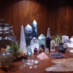 beautifuls crystal altar