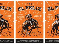 El Felix Postcard by Alana Louise