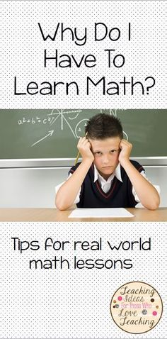 5 Tips to make your math lessons more engaging by bringing real world math into your lessons.