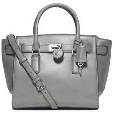 MICHAEL Michael Kors Hamilton Traveler Medium Leather Satchel on shopstyle.com