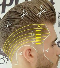 Drop Fade Haircut, Tapered Haircut, Barber Haircuts, Cool Mens Haircuts, Beard And Mustache Styles, Hair And Beard Styles, Barber Tips, Undercut Long Hair, Gents Hair Style
