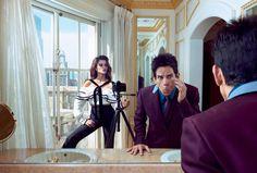 Go inside Vogue's February cover with Penlope Cruz and Derek Zoolander
