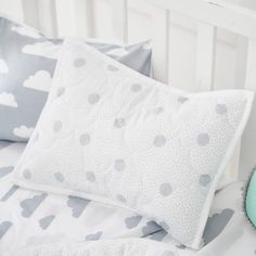 Up In The Clouds Coverlet Set