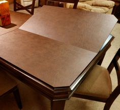 Dining Room Table Pads Custom Custom Table Pads  Custom Table Pads  Table Pad  Dining Table Pads Inspiration Design