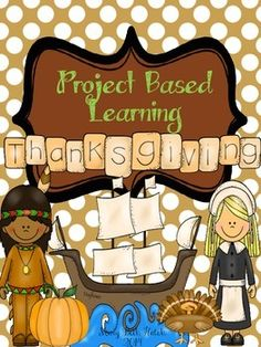 Do you need something super interactive and engaging for your students to use for Thanksgiving? Well here it is! A complete project based learning set on Thanksgiving.  This set has been designed to incorporate several grade levels and academic areas.