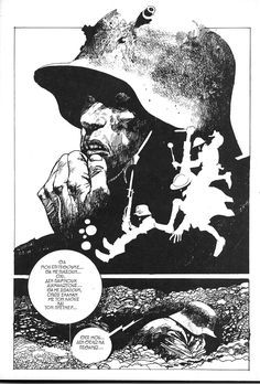 Sergio Toppi was a master of layout/design/illustration.     http://en.wikipedia.org/wiki/Sergio_Toppi