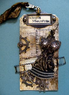 yaya scrap & more: 12 tags of 2012 September.... Fashion Steampunk !  Iron Maiden...yeah!