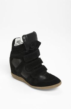 I'm just not sure how I feel about wedge sneakers,  but I'm kind of drawn to these  Steve Madden 'Hilight' Wedge Sneaker   Nordstrom