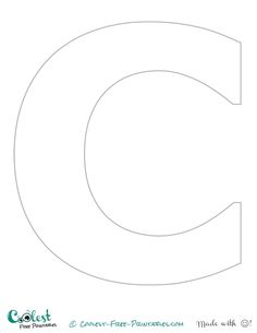 Alphabet Letter G Template Coloring Pages  Kids Coloring Pages