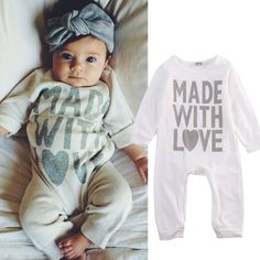 Cute Baby Funny Baby Romper Clothes Newborn Clothes Baby Girl clothes Newborn #Unbranded #DressyEverydayHoliday