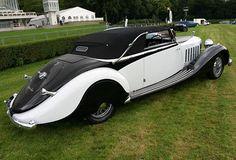 Saoutchik Hispano-Suiza K6 Cabriolet 1935