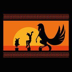Diseño Hercules Sunset de rapidograph - Pampling.com