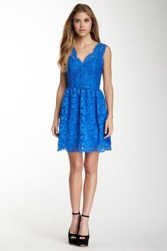 Madison Marcus Scalloped Lace Dress on HauteLook
