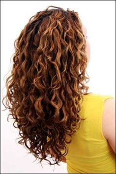 The Layered Long Curly Haircut