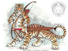 Tigertaur by Goldenwolf.deviantart.com on @deviantART