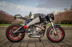 American Cafe Racer - Buell XBR12R Custom ~ Return of the Cafe Racers