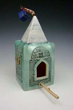 Bird house by Patsy Thola Chamberlain