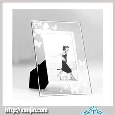 Glass Mirror Frames | Butterfly-Design-Mirror-Glass-Photo-Frame