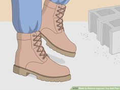 5 Ways to Relieve Ingrown Toe Nail Pain - wikiHow Toenail Pain, Toenail Removal, Best Face Products, Lush Products, Makeup Products, Beauty Products, Ingrown Toe Nail, Sore Feet, Anti Aging Facial