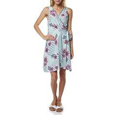 La Paloma Mint Floral Wrap Dress By Tigerlily From SurfStitch.