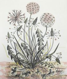 By The Track by Angie Lewin.