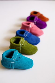 Turquoise Suede - Limited Edition Moccasins