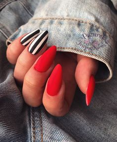 50 Beautiful Nail Art Designs & Ideas Nails have for long been a vital measurement of beauty and Neon Coral Nails, Summer Acrylic Nails, Best Acrylic Nails, Simple Acrylic Nails, Aycrlic Nails, Hot Nails, Swag Nails, Hair And Nails, Stylish Nails