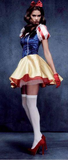 #Disfraz #Costume BlancaNieves para mujer #Disney sexy