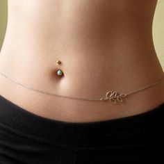 """Molina"" - Belly Chain #love this #bellychain! Anyone else #feeling this?"