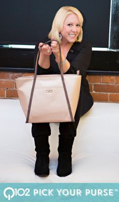 Cole Haan - Camlin Rose Metal Tote. Go to wkrq.com to find out how to play Q102's Pick Your Purse!