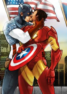 Saving the world, but stealing kisses