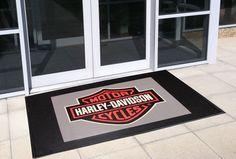 Superscrape Impressions Logo Mat - Harley Davidson
