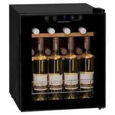 Racitor vinuri cu compresor DX-16.46K Racitorul de vin Dunavox DX-16.46K este o apariţie elegantă de culoarea neagră, usă de sticlă colorată, care fac ca acest răcitor să devină perfect pentru prezentarea vinurilor în restaurante, sau in bucătării moderne. Wine Cabinets, Wine Fridge, Mini Bottles, Glass Door, Wine Rack, Liquor Cabinet, Kitchen Design, Storage, Home Decor