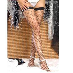 Silk Stocking Women Large Mesh Thigh High Silk Stocking Female Stocking Sexy Thick Slim Show Thin Leg Shaper Fat Tights Black