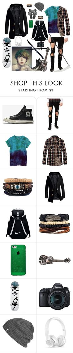 """Nectral 1(Dani)"" by kinankirtash04 on Polyvore featuring Topman, NIKE, Eos, Outdoor Research, Beats by Dr. Dre, men's fashion and menswear"