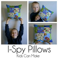 Pieces by Polly: I-Spy Pillows Kids Can Make