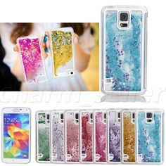 Bling Glitter Star Liquid Quicksand Case Cover F Samsung Galaxy S4 S5 NOTE 3 4 in Cell Phones & Accessories | eBay