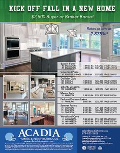 1000 Images About Special Incentive Flyers From Acadia