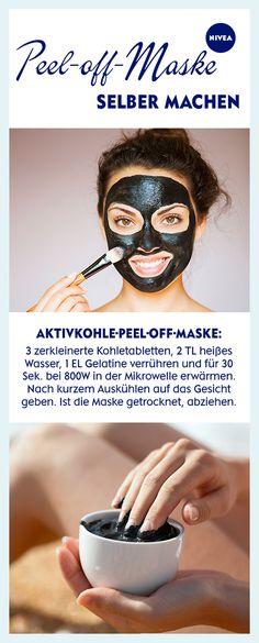 Peel-Off-Masken gelten als besonders reinigend: Sie ziehen Hautunreinheiten förmlich aus den Poren. Wir zeigen euch, wie genau das funktioniert und wie ihr eure eigene DIY-Abziehmaske anrührt.