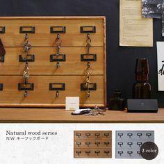 鍵掛け 鍵掛けフック 鍵掛けインテリア キーハンガー キーフック 壁掛け 壁面収納 アンティーク 収納 ヴィンテージ インテリア 。N.W.キーフックボード インテリアとしても素敵な木の風合いを活かした鍵掛け 05P03Sep16