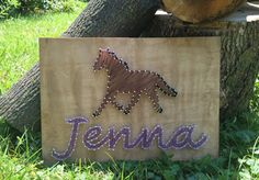 MADE TO ORDER Horse String Art by SeasonOfSeeking on Etsy