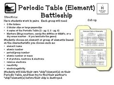 Periodic Table (Element) Battleship