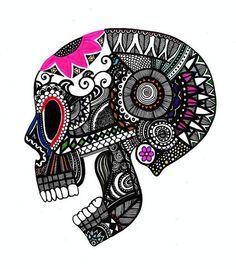 Love this skull!