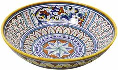 Deruta Serving Bowl - Vario - Ricco Deruta