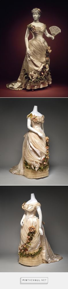 Evening dress by House of Worth ca. 1882 French | The Metropolitan Museum of Art