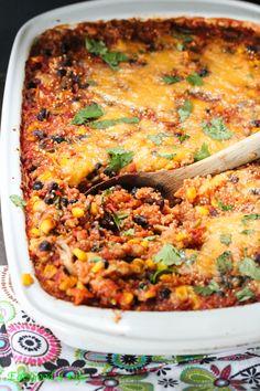Chipotle quinoa casserole recipe