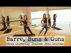 Barre, Buns & Guns With Christine Bullock and Celebrity Trainer Jeni DelPozo - YouTube